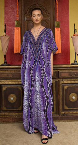 Fox Sunset Shahida Parides Kaftan Dress