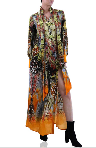 Sunny Yellow 3 Way Shahida Parides Dress