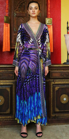 Geisha Violet 3 Way Shahida Parides Dress