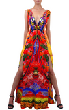 Locket Lemond Drop Shahida Parides Maxi Dress