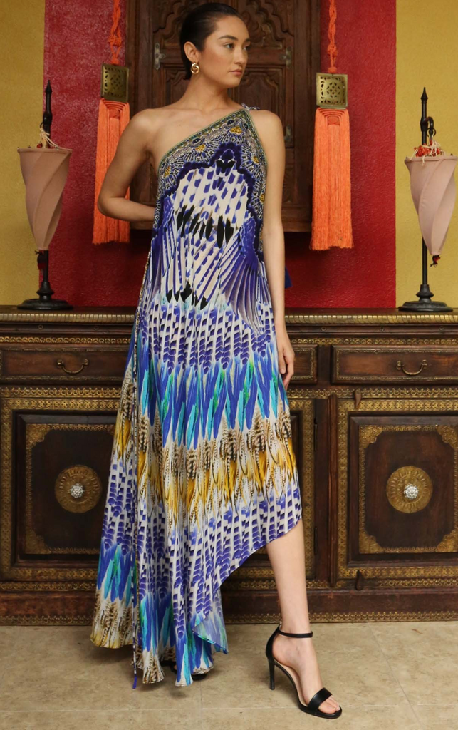Blue Jay Deep Sea 3 Way Shahida Parides Dress