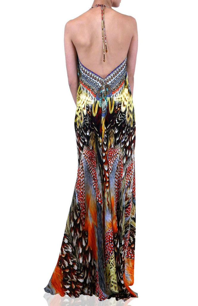 Fox Sunset 3 Way Shahida Parides Dress