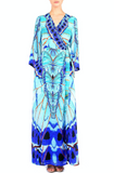 Aqua Shahida Parides Wrap Dress