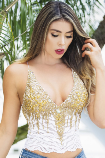 JADE WHITE GOLD BACCIO COUTURE