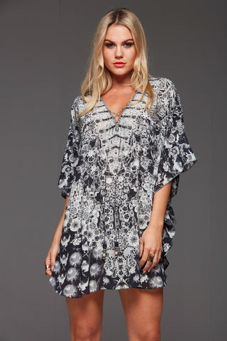DARK CHEROKEE CZARINA PLAYSUIT