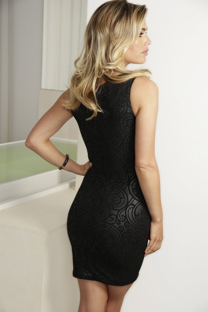 Tania Black Baccio Couture Dress