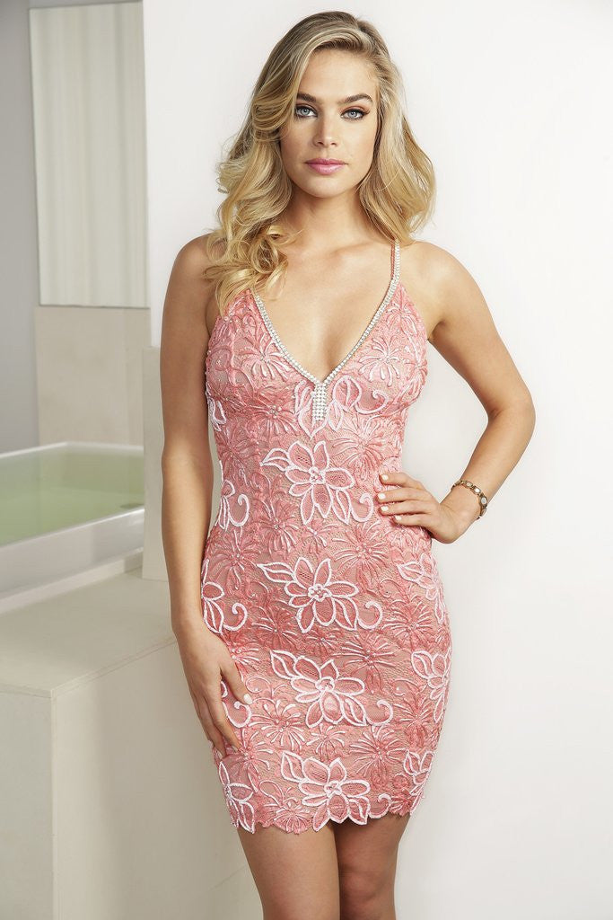 Karla Pink Baccio Couture Dress