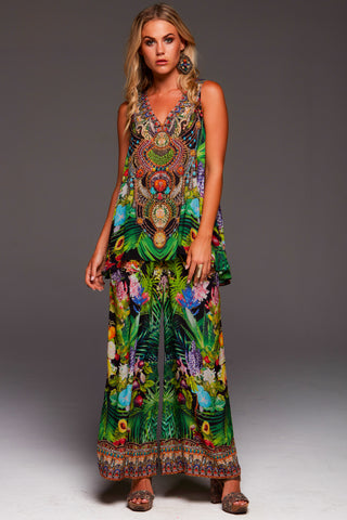 Shahida Parides Avatar Green Pants