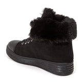 WARM BLACK LADY COUTURE SHOES