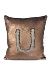 Ximena Valero Pillow Case Ivory Gold 20x20