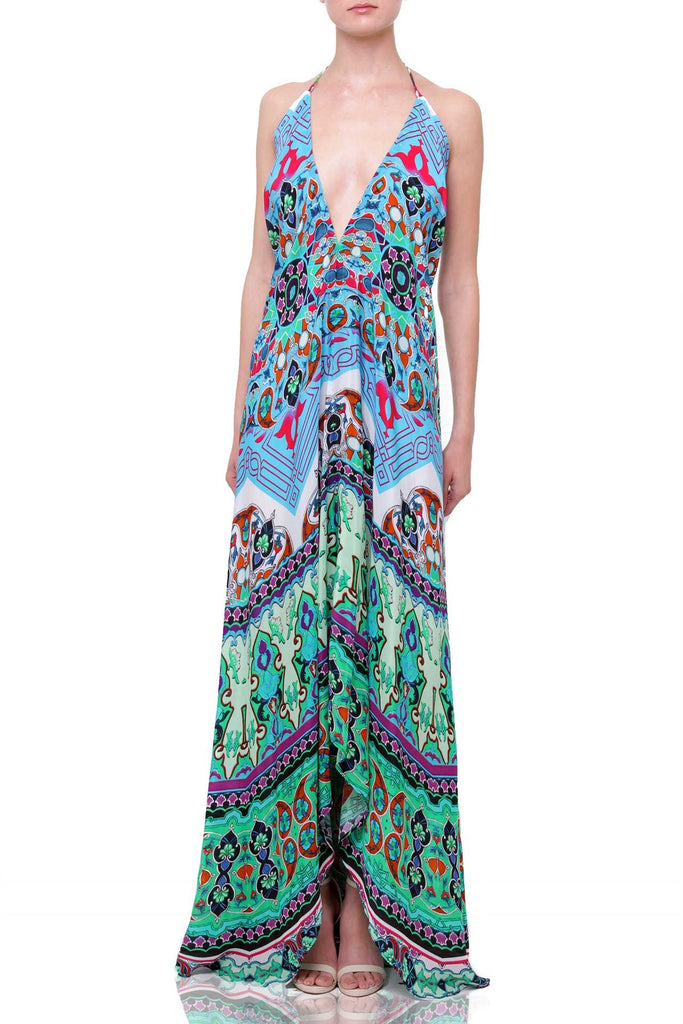BLUE BOHEMIAN SHAHIDA PARIDES 3 WAY DRESS