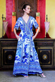 CHINOISERIE SHAHIDA PARIDES DRESS