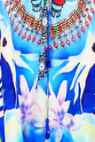 Blue Kaftan Tunic Shahida Parides Dress