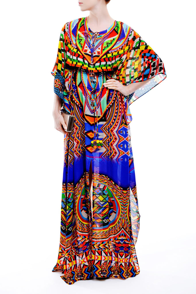 Cleopatra Shahida Parides Kaftan Dress