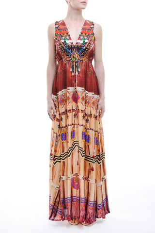 Twiggy Purple Rain 3 Way Shahida Parides Dress