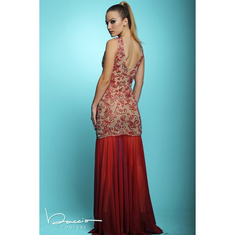 Molly Painted Long Dress Baccio Couture