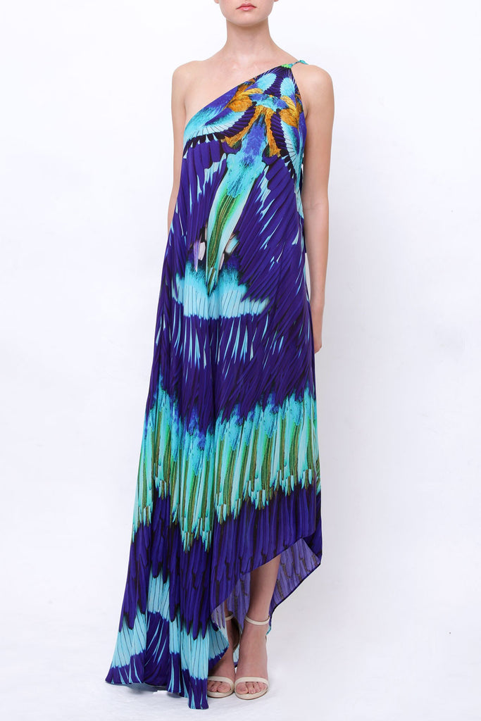 Azure Navy Blue Shahida Parides 3 Way Dress