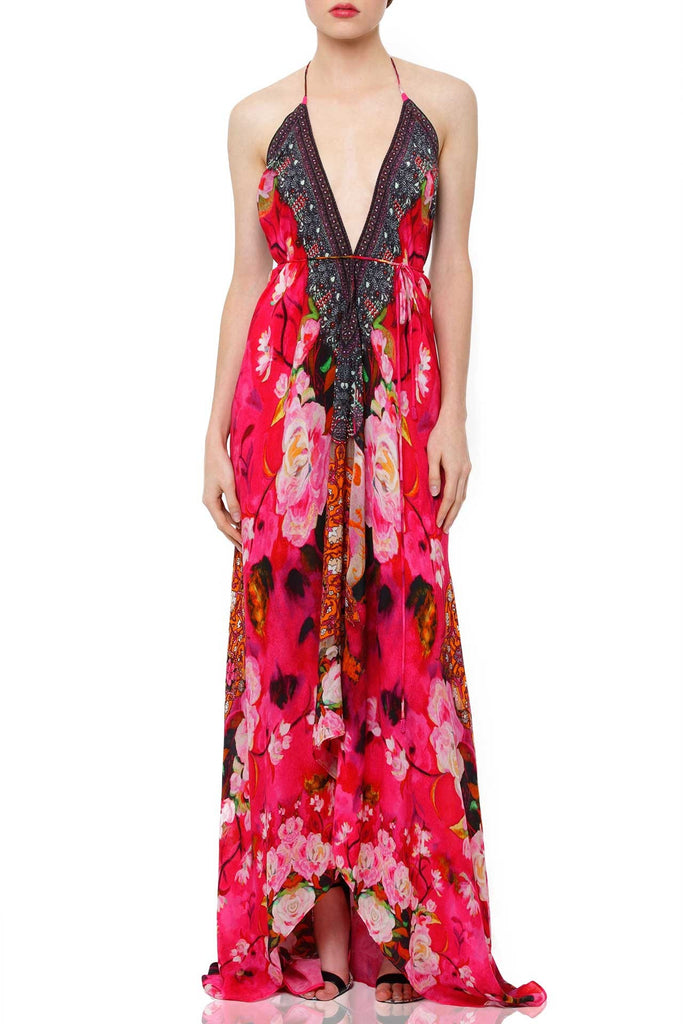 Pink Rose Shahida Parides 3 Way Dress