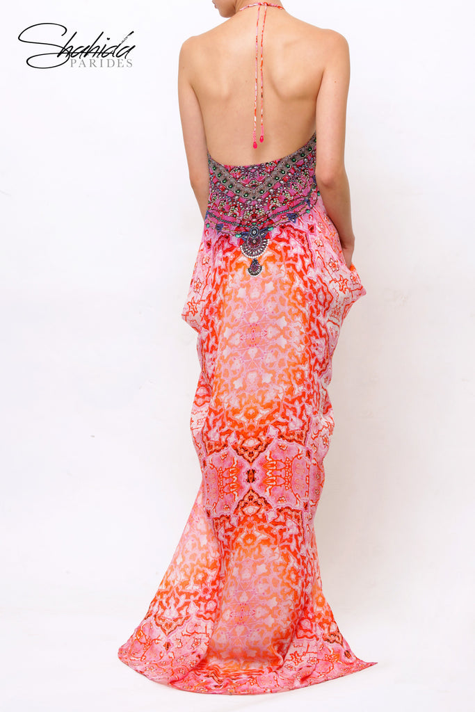 Persian Princess Sunset Shahida Parides Kaftan