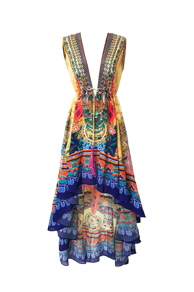 Sea Dragon Shahida Parides Hi Low Dress