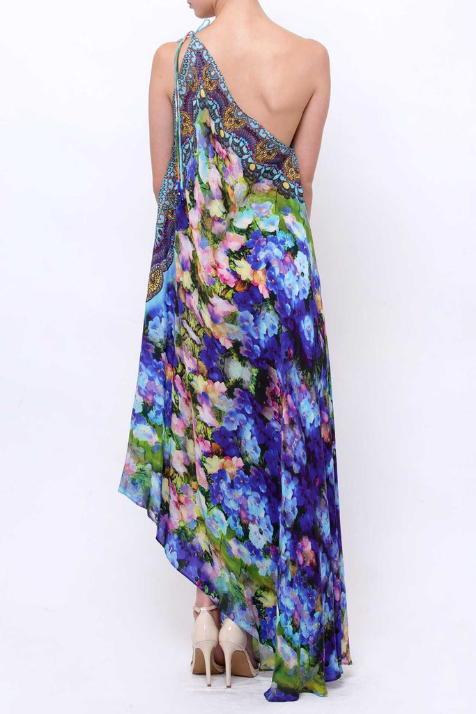 Floral Azure Parides 3 Way Dress