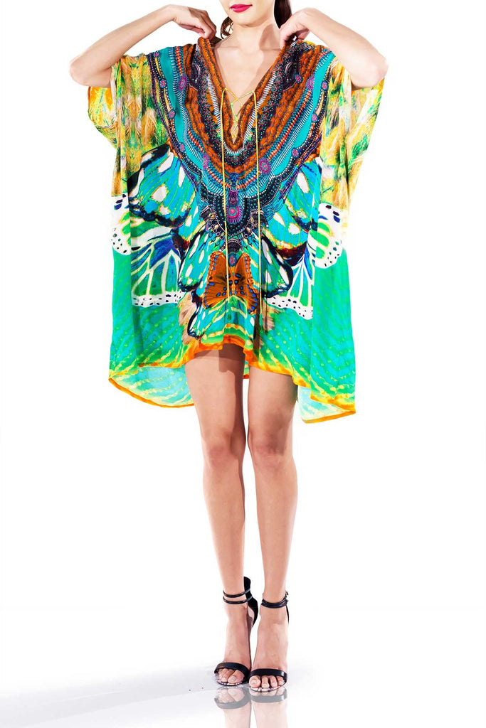 Avatar Aqua Luxury Kaftan Dress