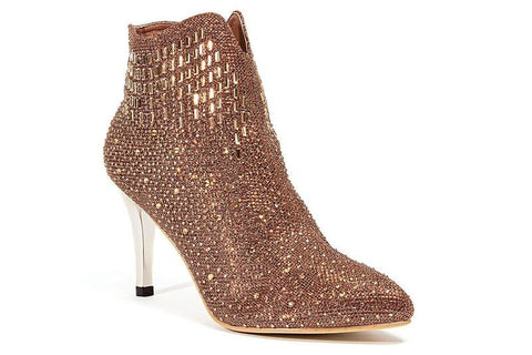 NEW YORK GOLD LADY COUTURE SHOES
