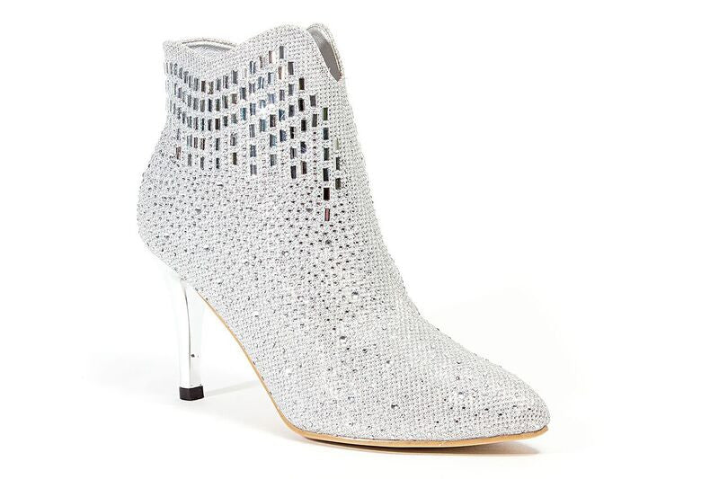 Star Silver Lady Couture Shoes