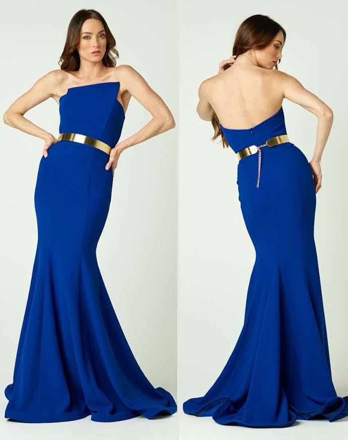 Fitted Mermaid Nicole Bakti Gown