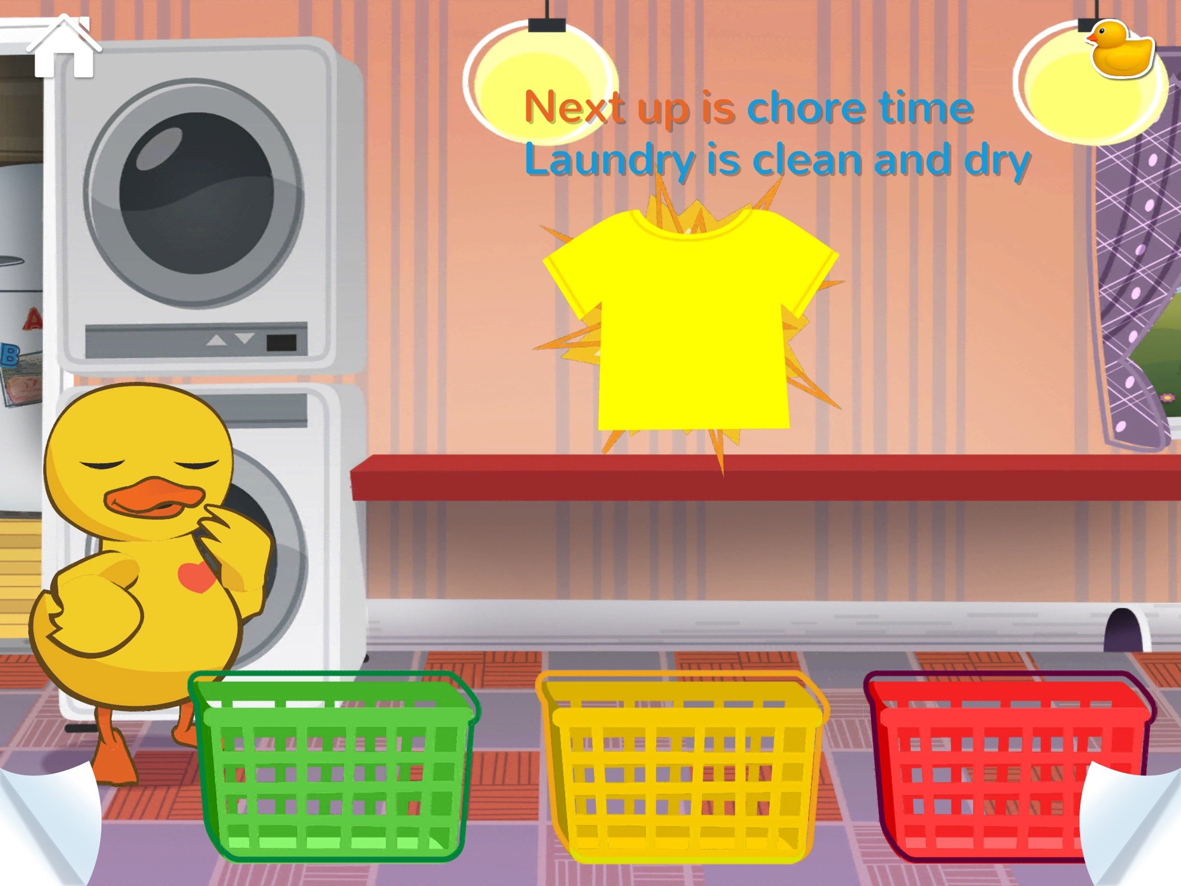 Edwin Laundry Sorting Game