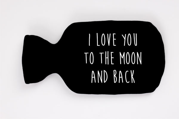 "Šildyklė ""I love you to the moon and back"""