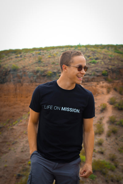 Life On Mission Tee (Black)