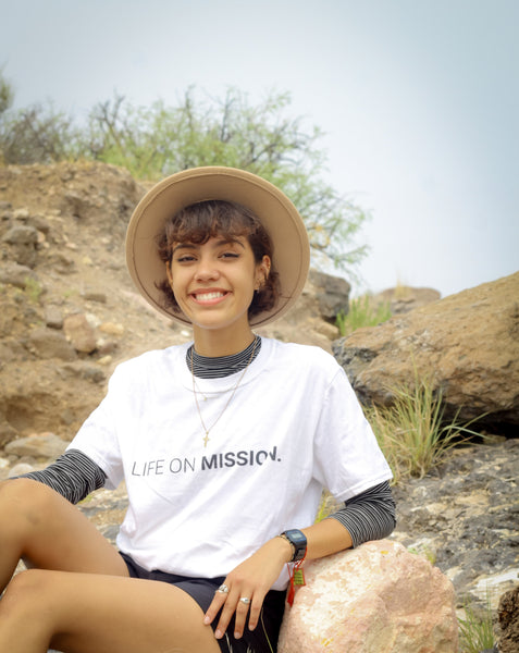 Life On Mission Tee (White)