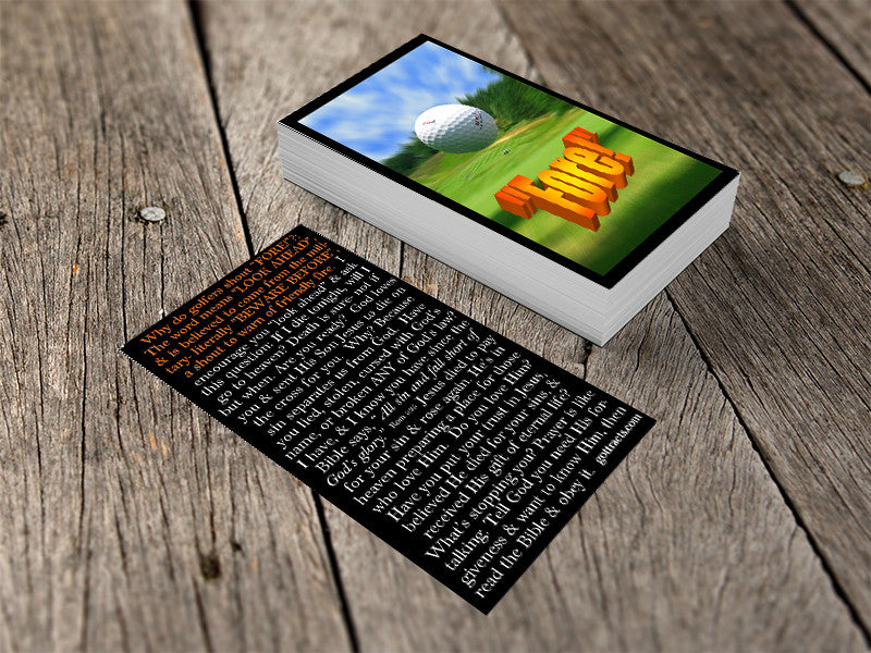Golf Gospel Tracts