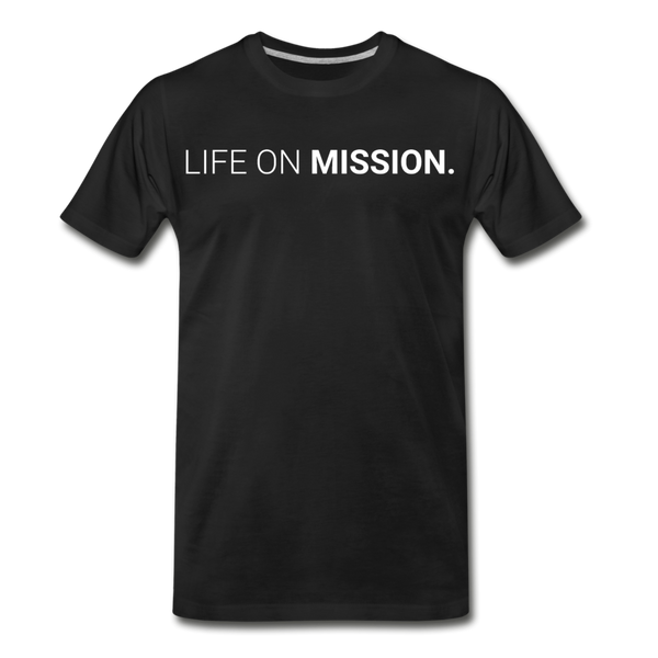 Life On Mission Tee - black