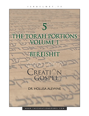 """Bereishit"" Torah Portion Commentary - The Creation Gospel Workbook 5 Volume 1"