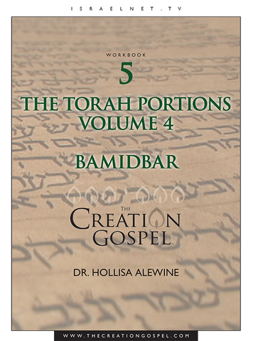"""Bamidbar"" Torah Portion Commentary - The Creation Gospel Workbook 5 Volume 4"