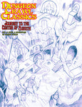 DCC #91 - Journey to the Center of Aereth (Sketch Cover)