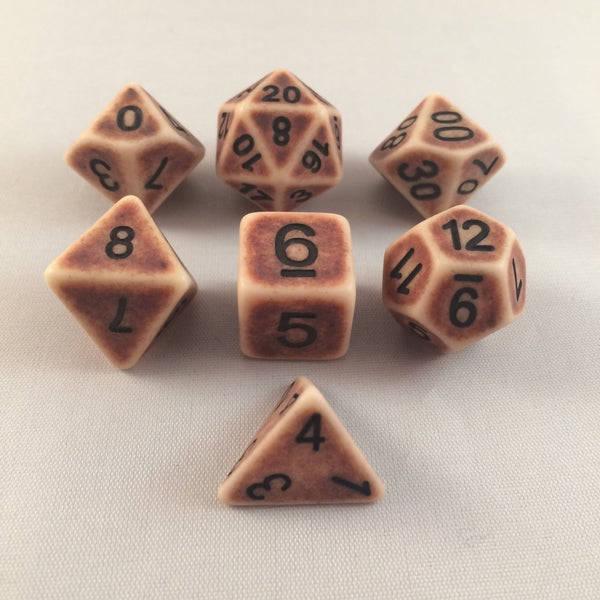 Ancient Brown Dice