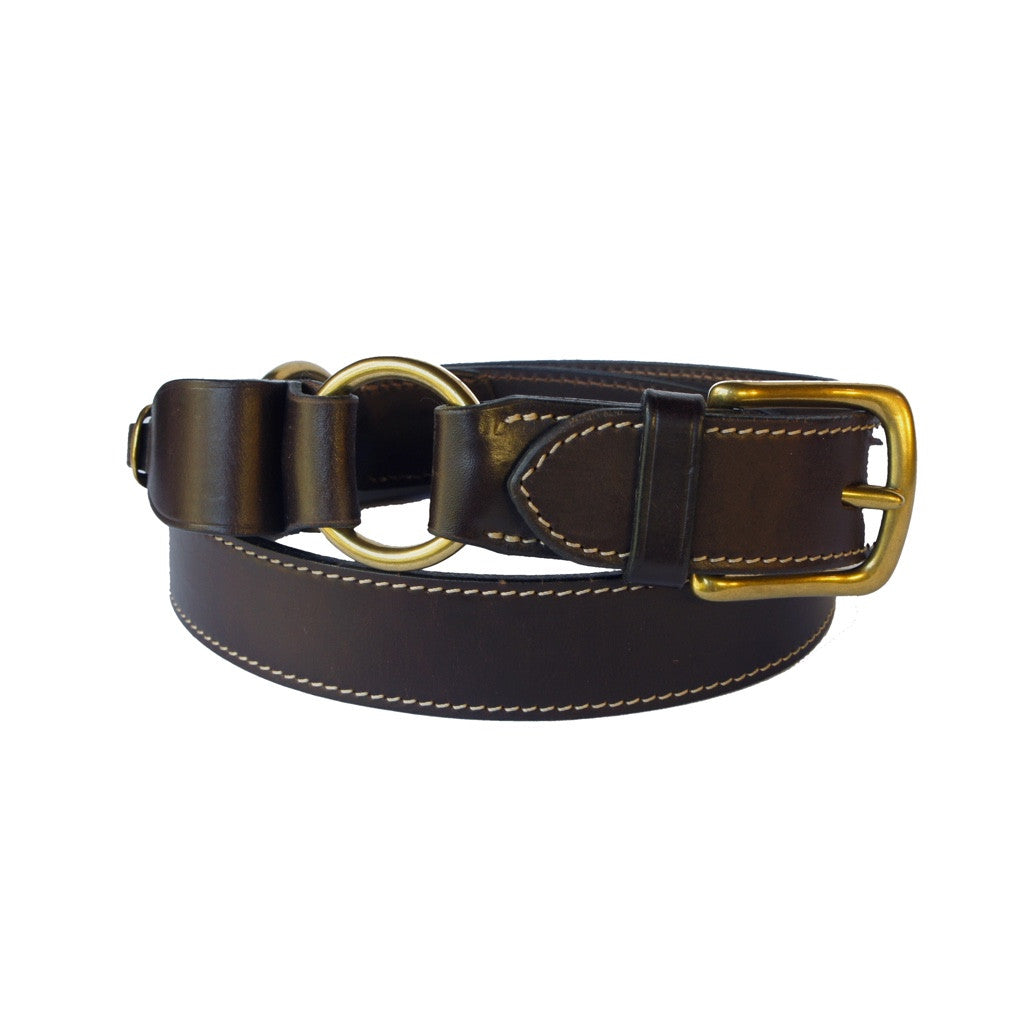 The Kalgoorlie - 100% Cognac Cowhide Leather Belt