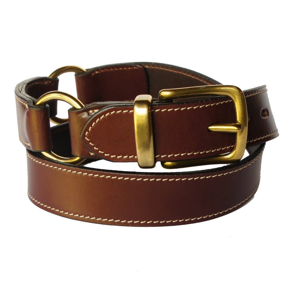 The Peak Hill - Brown 100% Cowhide Leather Belt