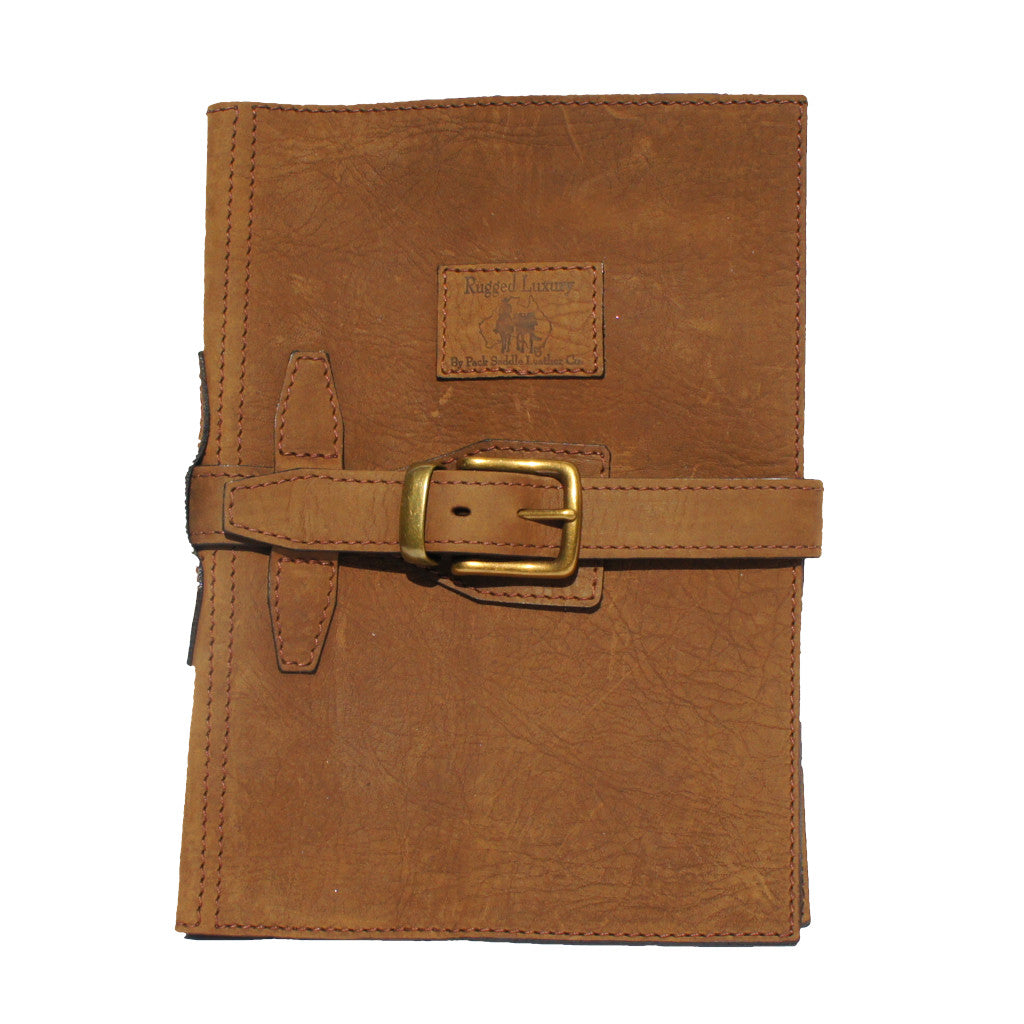Halls A4 Diary Cover with Strap - 100% Genuine Cowhide Leather