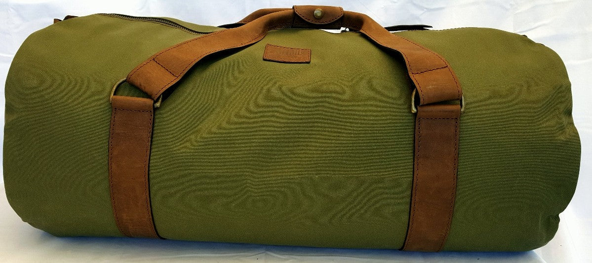 The Kimberly Leather and Canvas Gear Bag