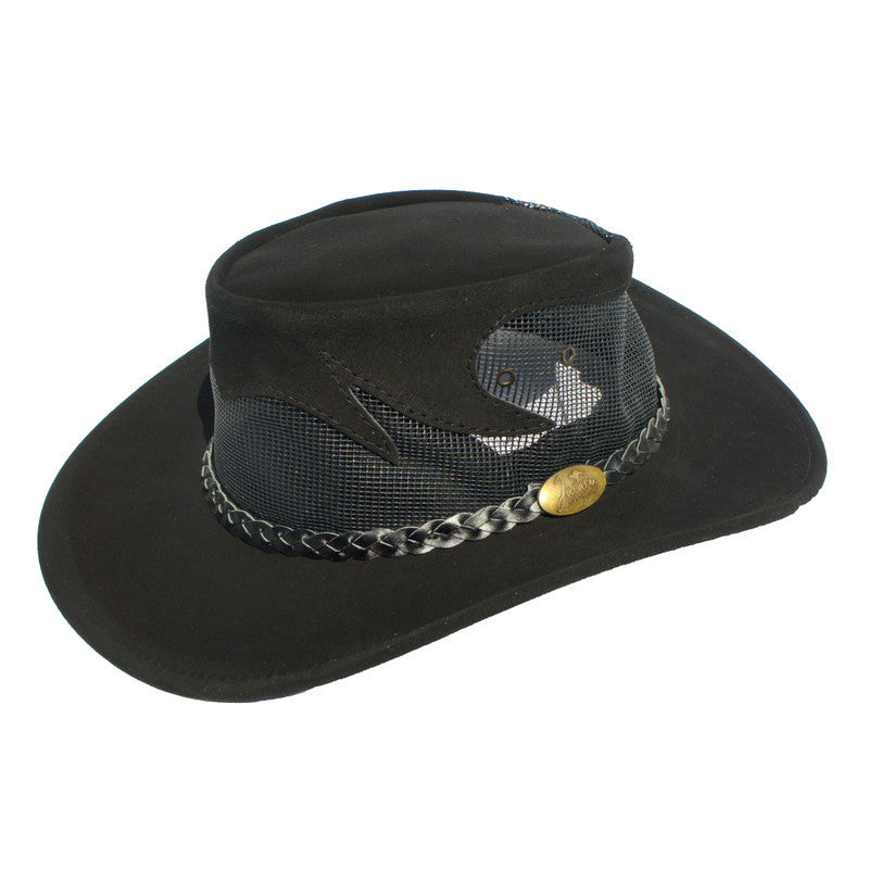 Jacaru Blaze - Leather Cowhide Suede Hat