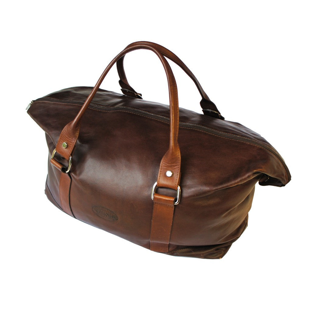 Winton Weekender Bag - Oily Pull Up New Zealand Leather