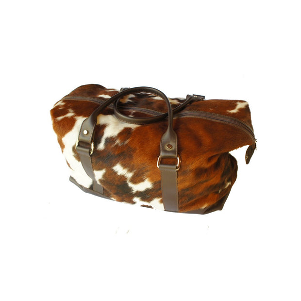 Derby Weekender - 100% Hair-On Cowhide Leather Bag