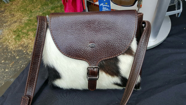 Esperance Hair-On Cowhide Clutch Bag