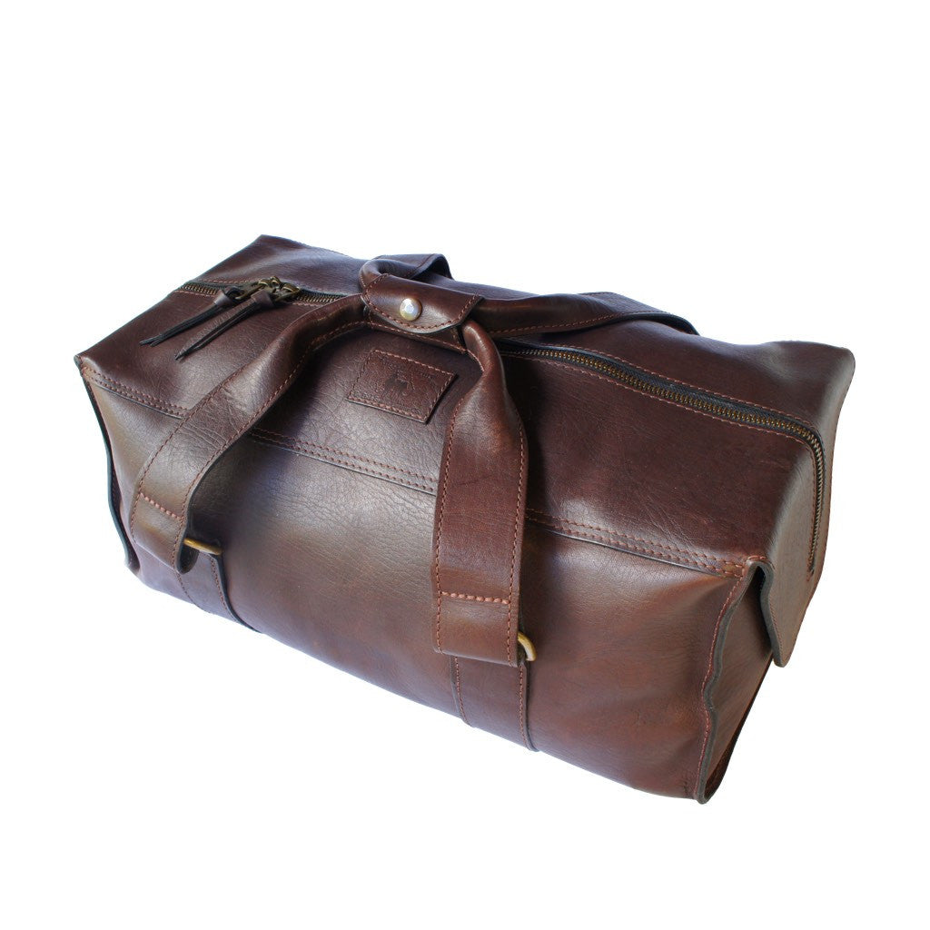 Isa Weekender Bag - 100% Genuine Cowhide Leather
