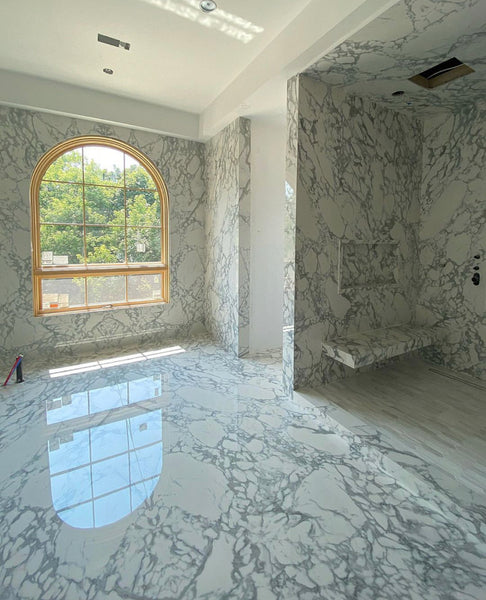 Floor to Ceiling Marble