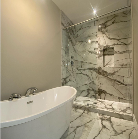 Large Format Bathroom Tile
